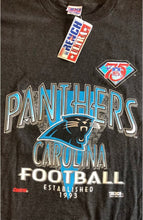 Load image into Gallery viewer, Vintage 1994 Carolina Panthers NFL 75 Year Anniversary NWOT Deadstock TSHIRT - L