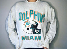 Load image into Gallery viewer, Miami Dolphins early 90s Crew - M - Rad Max Vintage
