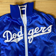 Load image into Gallery viewer, Vintage 1980s Los Angeles LA Dodgers Satin Bomber Jacket - Youth Large / Adult XS