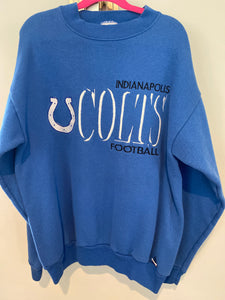 Vintage Indianapolis Colts Logo 7 Crew - XS/S