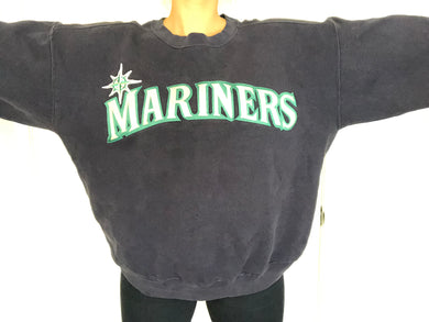 Vintage 90s Seattle Mariners Crewneck - XL/XXL