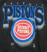 Load image into Gallery viewer, Vintage 1990s Detroit Pistons Old Logo Crew - XL