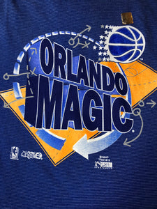 Orlando Magic Hoodie - L - Rad Max Vintage