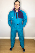 Load image into Gallery viewer, Vintage Columbia Turquoise Ski Gaper - Men's L