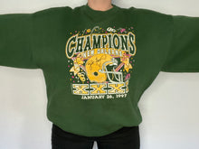 Load image into Gallery viewer, Vintage 1997 Green Bay Packers Super Bowl XXXI Champions Crew - XXL