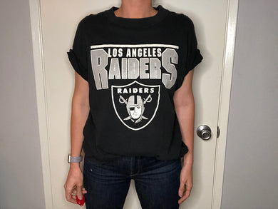 1982-94 Los Angeles Raiders TSHIRT - XL - Rad Max Vintage