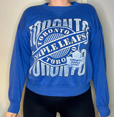 Vintage 1990s Toronto Maple Leafs Canadian Brand Crew - S