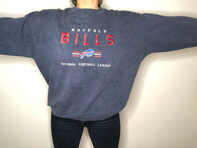 Vintage 90s Buffalo Bills Embroidered Lee Sport Crew - L/XL