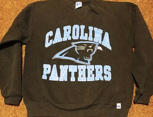 1994 Carolina Panthers Crew - XS - Rad Max Vintage