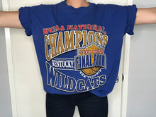 Load image into Gallery viewer, 1998 University of Kentucky Wildcats Basketball Final Four Champions TSHIRT - XL