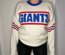 Load image into Gallery viewer, Vintage 1980s New York Giants Cliff Engle Crewneck SWEATER - L