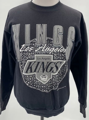 Vintage 1994 Los Angeles LA Kings Old Logo Crew - M /L