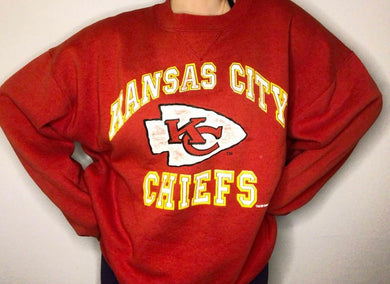 1993 Kansas City Chiefs Crewneck - XXL