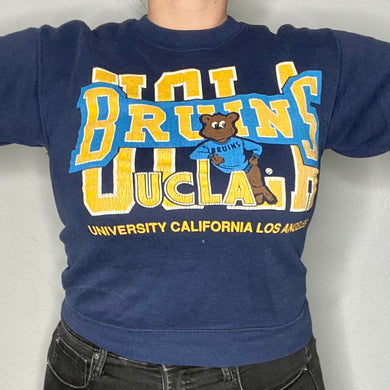Vintage 1980s/1990s UCLA Bruins Old Logo Crew - Youth Large / Adult XS