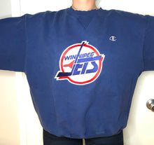 Load image into Gallery viewer, Vintage Winnipeg Jets Champion Crewneck - XL