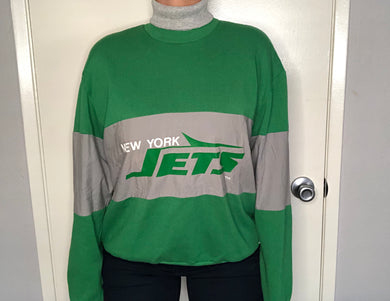 Vintage New York Jets Turtleneck - L/XL