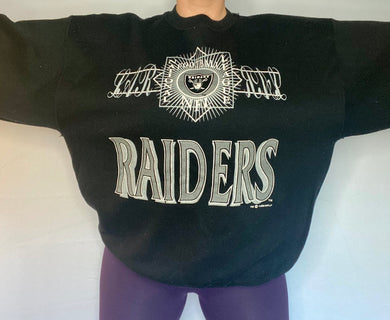 Vintage 1992 Los Angeles LA Raiders Crew from Logo 7 - XXL
