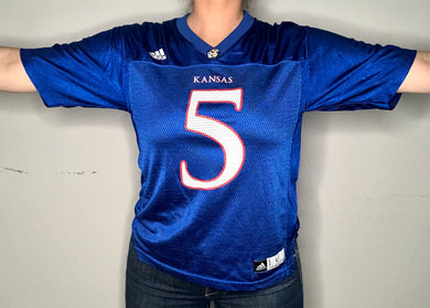 University of Kansas Jayhawks #5 JERSEY - Youth L / Adult S