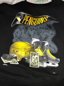 Pittsburgh Penguins Crew - L - Rad Max Vintage