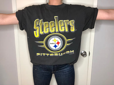 1995 Pittsburgh Steelers TSHIRT - L - Rad Max Vintage