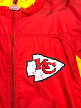 Load image into Gallery viewer, Vintage Kansas City Chiefs Apex One Pullover Windbreaker - M