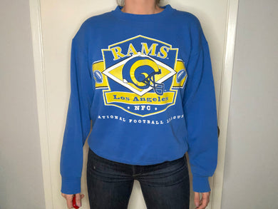 Los Angeles Rams Crewneck - M - Rad Max Vintage
