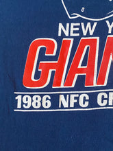 Load image into Gallery viewer, Vintage 1987 New York Giants Super Bowl XXI TSHIRT - M