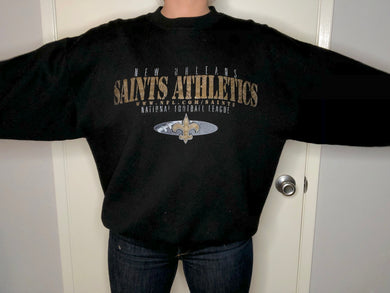 New Orleans Saints Crew - XL - Rad Max Vintage
