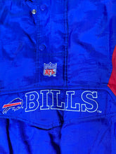 Load image into Gallery viewer, Vintage 1990s Buffalo Bills 1/4 Zip Puffer Jacket from STARTER - M