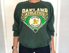 Load image into Gallery viewer, Vintage 1988 Oakland A's Athletics Crewneck - L