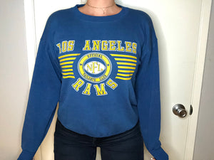Vintage Los Angeles Rams Crewneck - L