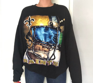 Vintage 1996 New Orleans Saints Crew from Lee Sports - XL / XXL