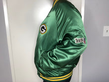 Load image into Gallery viewer, Green Bay Packers Chalk Line Satin Bomber - L - Rad Max Vintage
