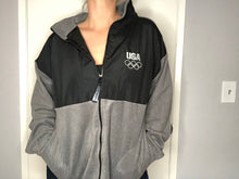 Load image into Gallery viewer, USA Olympics Zip Up Fleece - L - Rad Max Vintage
