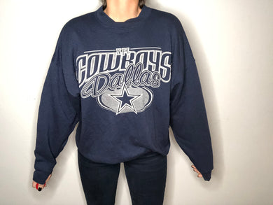 Early 90s Dallas Cowboys Crew - XL