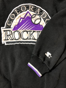 Colorado Rockies Starter - XL - Rad Max Vintage