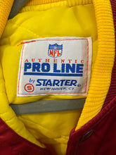 Load image into Gallery viewer, Vintage Washington Redskins / Football Team Satin Bomber STARTER JACKET - S