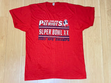 Load image into Gallery viewer, Vintage 1985 New England Patriots Super Bowl XXI Champions TSHIRT - M