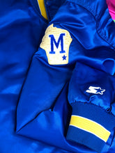 Load image into Gallery viewer, Vintage Milwaukee Brewers Satin Bomber Starter Jacket - XL