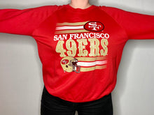 Load image into Gallery viewer, Vintage Late 80s-early 90s San Francisco SF 49ers Crew - M-L