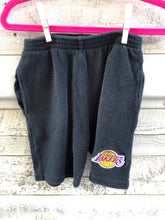 Load image into Gallery viewer, Vintage 90s Los Angeles LA Lakers Kids Short Sleeve Sweat Outfit - 4T