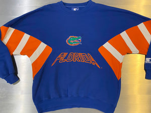 Vintage University of Florida Gators Crew from STARTER - L