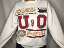 Load image into Gallery viewer, Vintage University of Oklahoma OU Sooners Crew - L