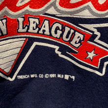 Load image into Gallery viewer, Vintage 1991 Cleveland Indians Chief Wahoo Crew from Trench - L