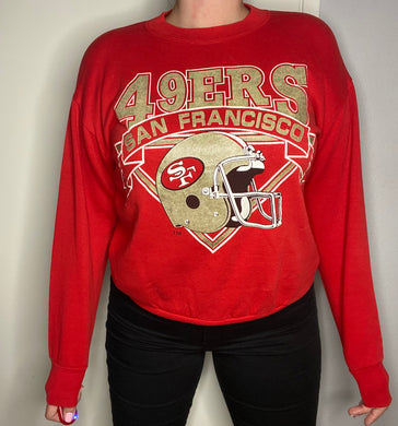 Vintage San Francisco 49ers Logo 7 Crew from the 80s-early 90s - S/M