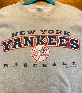 Vintage 1998 New York Yankees Crew - L
