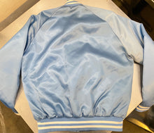 Load image into Gallery viewer, Vintage Houston Oilers Chalk Line Satin Bomber Jacket - M