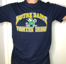 Load image into Gallery viewer, Vintage Notre Dame Fightin Irish Logo 7 TSHIRT - S