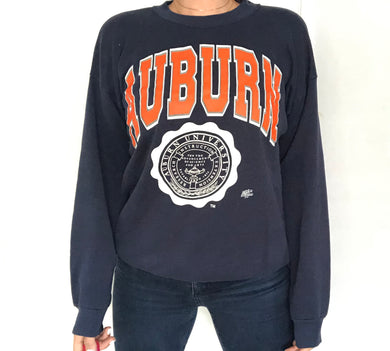 Vintage 1980s Auburn University Tigers Crewneck - XL