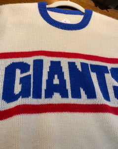 Vintage 1980s New York Giants Cliff Engle Crewneck SWEATER - L